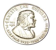 10 Pesos - Cuba - Che Guevara - 1989 - Argent - 999.. - Sup - - Cuba