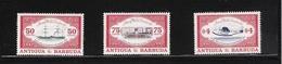 ANTIGUA & BARBUDA, 1990 Stamp World London'90 3v  MNH - Exposiciones Filatélicas