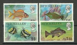 SEYCHELLES  1974  FISH  SET  MINT - Pesci