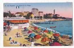 Carte Postale  Saint Raphael Les Bains Et La Plage - Saint-Raphaël