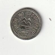 TOKEN NO CASH VALUE - 22.8 - Fichas Y Medallas