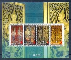 M107- Thailand 2008. Souvenir Sheet Thai Heritage Conservation Day  Guardians. - Thailand