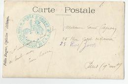 Marcophilie - Cachet Armée D'orient Parc Télégraphique Du Caa 1918 Sur Carte Athènes De Felix Ragno Opticien Grèce - Marcophilie (Lettres)
