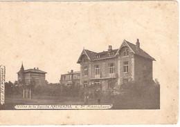 SINT MARIABURG VILLAS DE LA SOC.  ANTVERPIA  à  St. Mariaburg Ca 1902 Geen Lijnen1165/d3 - Brasschaat