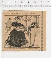 2 Scans Humour De 1905 Enfant Malpoli Malpolitesse Crachat / Elève Cancre école Homicide Suicide Suisse  51D16 - Vieux Papiers