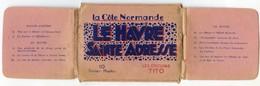 LE HAVRE(76) Petit Carnet De 10 Vues 6 X 9 (2 Scans ) - Otros