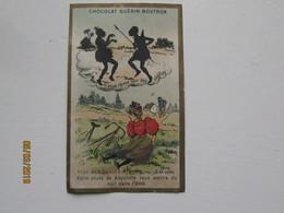 LE/AJ - Chromo GUERIN-Boutron à Paris - Si Vous Rêvez De Voir Des Nègres ; Clef Des Songes -1890-1900 - Cromos