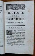 HISTOIRE DE LA JAMAIQUE- 1ERE PARTIE- TRADUIT DE L'ANGLOIS PAR M*** - 1751 - Books, Magazines, Comics