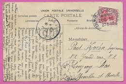 CPA Poupée Ed Stebbing 68 Haut Rhin Alsace Oblitération Ambulant COLMAR ELS SCHNIERLACH 1907 Train Zug 12 - Alsace Lorraine