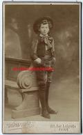 En 1908-CDV-jeune Garçon Costumé? Photo Pierre Petit à Paris - Photographs