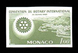 Monaco 726 Rotary Essai De Couleur. Trial Color Proof MNH - Rotary, Lions Club