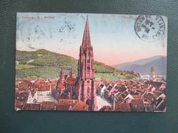 CPA ALLEMAGNE FREIBURG I.BR MUNSTER - Freiburg I. Br.