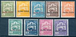 INDOCHINA 1927 Agricultural Scene (9v), VF Mostly MNH, MiNr 123-31, SG 136-44; C.v. €7.35 Or £6.35 - Indonesia