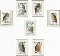 Hungria. Hungary. 1984. Mi 3725 / 31. Birds Raptors. Protection Of Nature - Hungría