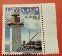 Latvia Used Stamp 2015 Lighthouse - Letonia