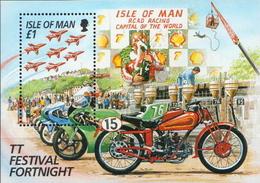 Isle Of Man MNH SS - Motorbikes