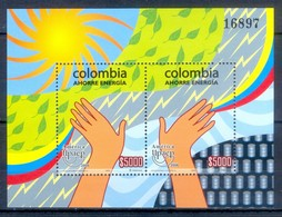 M120- Colombia 2006 America Issue Energy Conservation. Serie América UPAEP. Ahorro De Energía. - Colombia