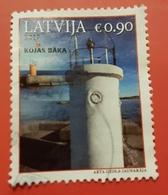 Latvia Used Stamp 2017 Lighthouse - Letonia