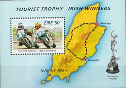 Ireland MNH SS - Motorbikes