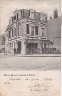 CPA  Précurseur - Menin, Douane Francaise à Halluin 1903 (lot Pat 58) - France