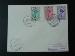 FDC 30 Ans Du Couronnement Du Roi Du Maroc 1957 - Morocco (1956-...)
