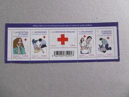 FRANCE 2010 N0 YT 4520/4524  * *  CROIX ROUGE - Sheetlets