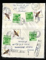 Roumanie 1968 Lettre De  Sucerva Vers Epinal - 1948-.... Républiques