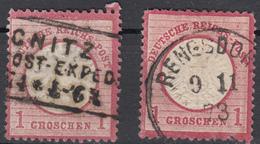 Deutsches Reich Brustschild  1Groschen - Deutschland