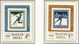 Hungria. Hungary. 1985. Mi 3743 / 44. OLYMPHILEX'85, Lausanne - Hungría