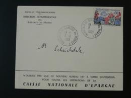 Cachet à Date Marseille St-Barnabé Annexe Mobile Sur Lettre 1963 - Marcophilie (Lettres)