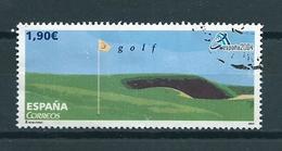 2004 Spain 1,90 EURO,Espana'04,golf Used/gebruikt/oblitere - 1931-Tegenwoordig: 2de Rep. - ...Juan Carlos I