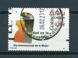 2011 Spain 0,80 EURO,women's Day Used/gebruikt/oblitere - 1931-Heute: 2. Rep. - ... Juan Carlos I