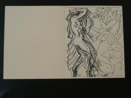 """Carte Maximum Card étude D'Antoine Bourdelle """"la Danse"""" Paris 1968 - Arts"""