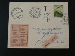 Lettre Cover Pour Durnstein Oblit. Nice Garibaldi Taxée Poste Aérienne Flugpost Autriche 1969 - 1945-.... 2. Republik