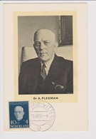 Vintage Rppc Dr A. Plesman Founder Of The KLM K.L.M Royal Dutch Airlines. - 1919-1938: Between Wars