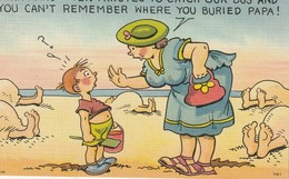 Think Hard - - Ten Minutes To Catch Our Bus And You Can't Remember Where You Buried Papa! - Humour