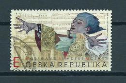 2011 Czech Republic Mozart,music,muziek Used/gebruikt/oblitere - Gebruikt