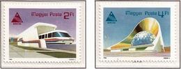 Hungria. Hungary. 1985. Mi 3758 / 59. EXPO '85, Tsukuba, Japan. Futuristic Technology - Hungría