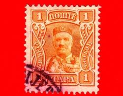 MONTENEGRO - Usato - 1907 - Principe Nicola I - Prince Nicholas I - 1 - Montenegro