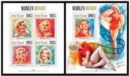 Guinea Bissau 2013 Marilyn Monroe Klb+s/s MNH - Berühmt Frauen