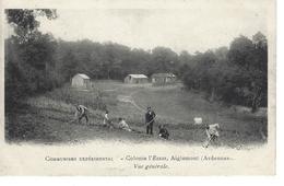 08 - AIGLEMONT - ( ARDENNES ) - Belle Vue Animée De La Colonie L'Essai - Vue Générale - Communisme Expérimental - France
