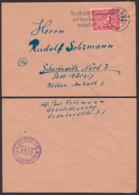 SBZ Sowjetische Zensur 5215, Abs. Berlin-Charlottenburg  - Ostberlin N4 Aufgegeben 11.11.49 N. Schortewitz Görzig Köthen - Sovjetzone