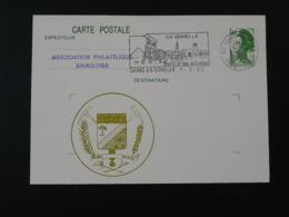 Entier Postal Stationery Card Liberté De Gandon Géologie Mine Mining Flamme Sains En Gohelle 62 Pas De Calais 1982 - Géologie