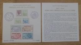 F5226 - Bloc Des Orphelins  De Guerre - Tirage Limité à 40000ex - Unused Stamps