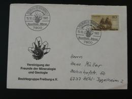 Lettre Cover Minéraux Minerals Fossiles Fossil Géologie Geology Freiburg Allemagne Germany 1983 - Géologie