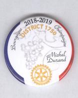 Magnet Rotary - District 1750 - 2018-2019 - Bourgogne Champagne - Magneti