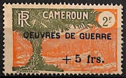 [827680]Cameroun 1940 - N° 235, +5F/2F, OEUVRES DE GUERRE, Colonies - Cameroun (1915-1959)