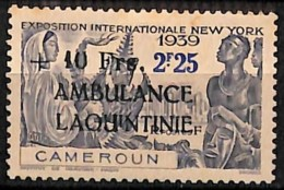 [827683]Cameroun 1941 - N° 248, +10F S. 2F25, AMBULANCE LAQUINTINIE, Colonies - Cameroun (1915-1959)