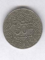 50 Centimes Maroc 1924 Poissy - Morocco