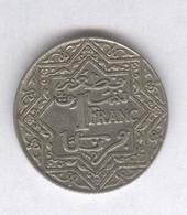 1 Franc Maroc 1924 Poissy - Marruecos